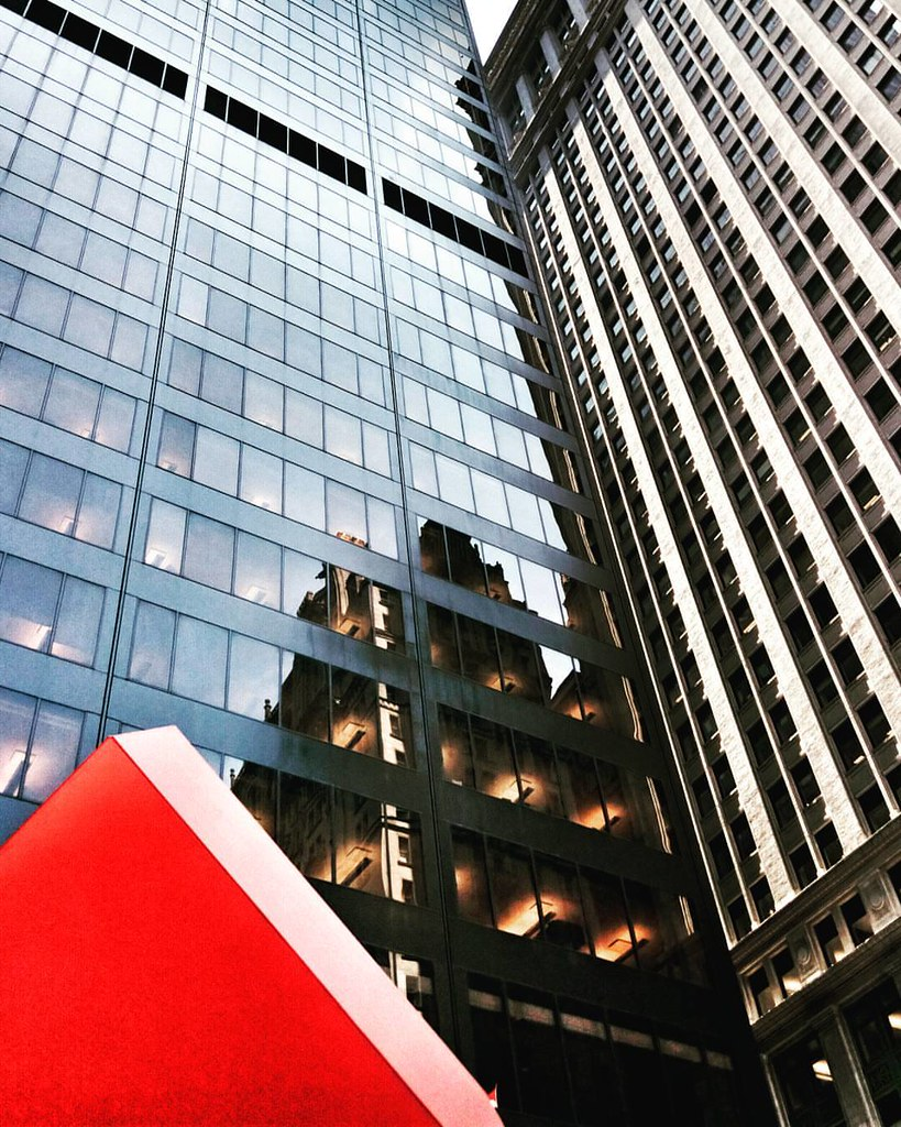 Red and Glass  #Newyork #nyc #newyorkcity #manhattan #Photo #Photography #Travel #travelgram #trip #iloveny #ilovenyc #newyorkphoto #instacool #instanewyork #mynyc #bigapple #Architecture #archilovers #thebigapple #building #colorful #igers #newyorknewyor