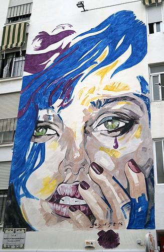 Murales Artísticos de Estepona (Spain): 4M by Miguel Gonzalez