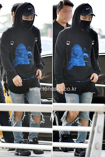 Big Bang - Incheon Airport - 07aug2015 - tenasia - 14