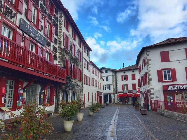 Calle de Espelette (Ezpeleta, País Vasco francés)