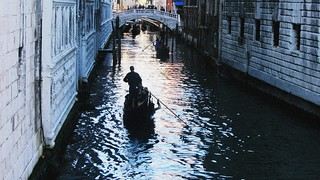 Venice never quite seems real, but rather an ornate film set suspended on the water.