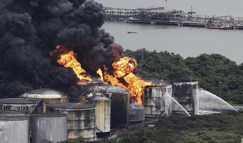 BRAZIL-FIRE/FUELTANKS