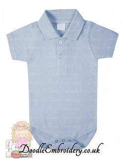 Polo Body Suit - Blue copy