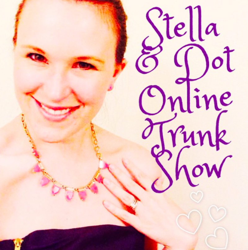 Stella and Dot online trunk show