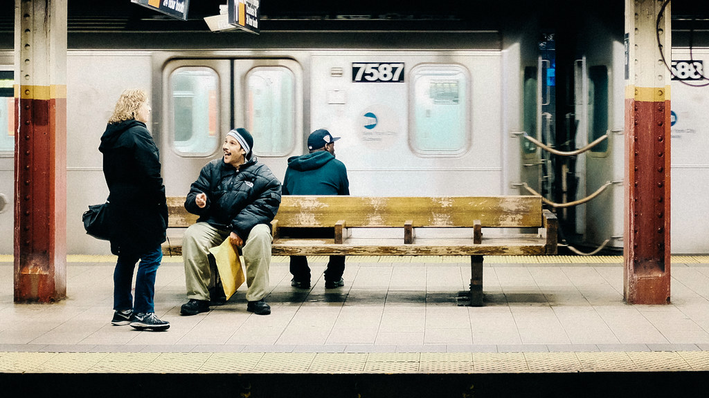 Across the Platform - New York - 2015