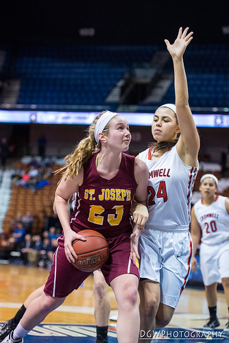 St Joseph High vs. Cromwell High - CIAC Class M Girls Basketball Finals