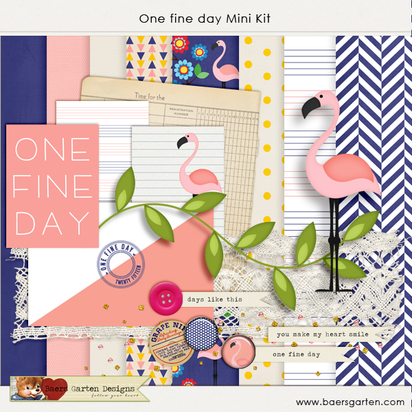 One fine day Mini kit freebie