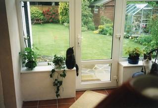 Suzy (and Daisy), May 1998