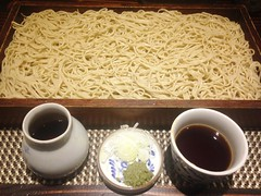 Cold Mori Soba Noodle @Monbei, Gubei, Shanghai