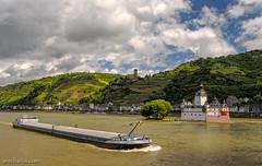 "Burg Pfalzgrafenstein ""near"" Rhiver Rhine :-)"