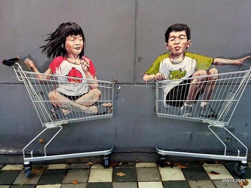 Shopping Cart Fun