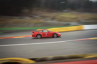 red GT3 on spa
