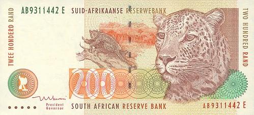 oude afrikanse rands