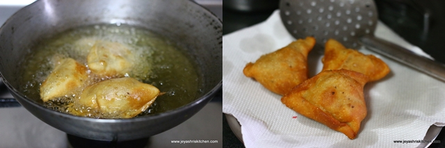 deep fried - samosa