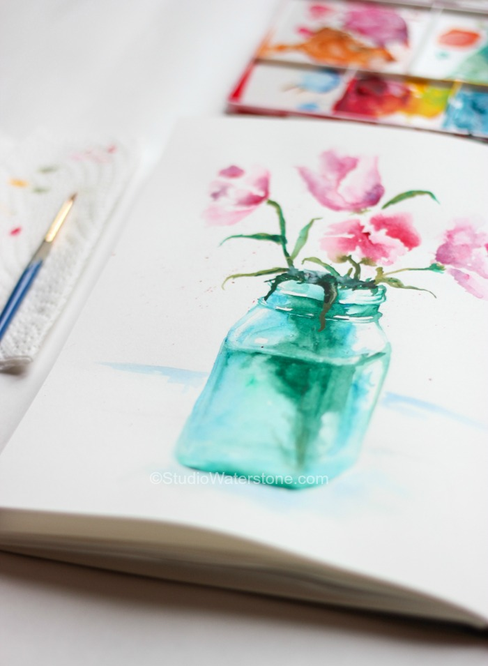 My Sketchbook: Watercolor Sketching | Studio Waterstone