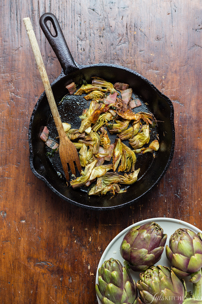 Frittata di carciofi - Artichoke frittata
