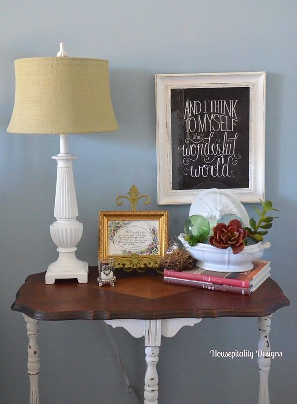 Guest Room Night Stand-Housepitality Designs