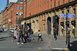 Pedestrian Crossing, Portland Street, Manchester