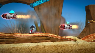 LittleBigPlanet Run Sackboy! Run! Available now for PlayStation Vita