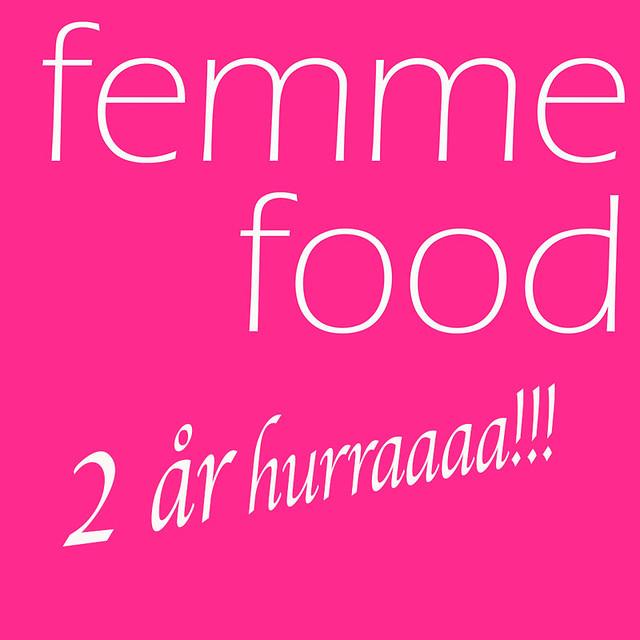 Femme Food 2 år