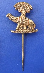 Colonial Public Seal of British West Africa - stickpin badge (1950's or earlier)