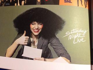 Saturday Night Live The Book: Emma Stone Bumper