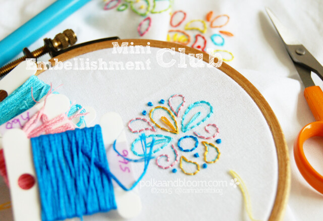 Mini Embellishment Club