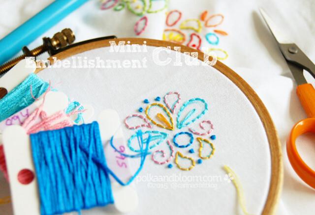 Mini Embellishment Club