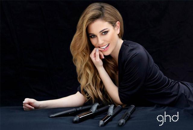 Blanca Suárez imagen de la nueva campaña de ghd España