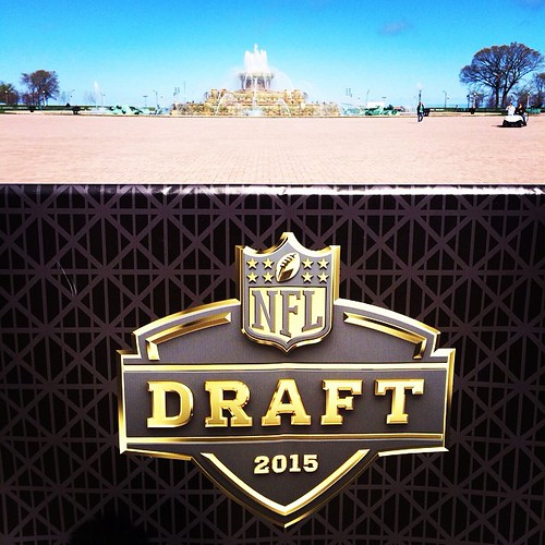 NFL Draft Chicago Buckingham Fountain Draft Town