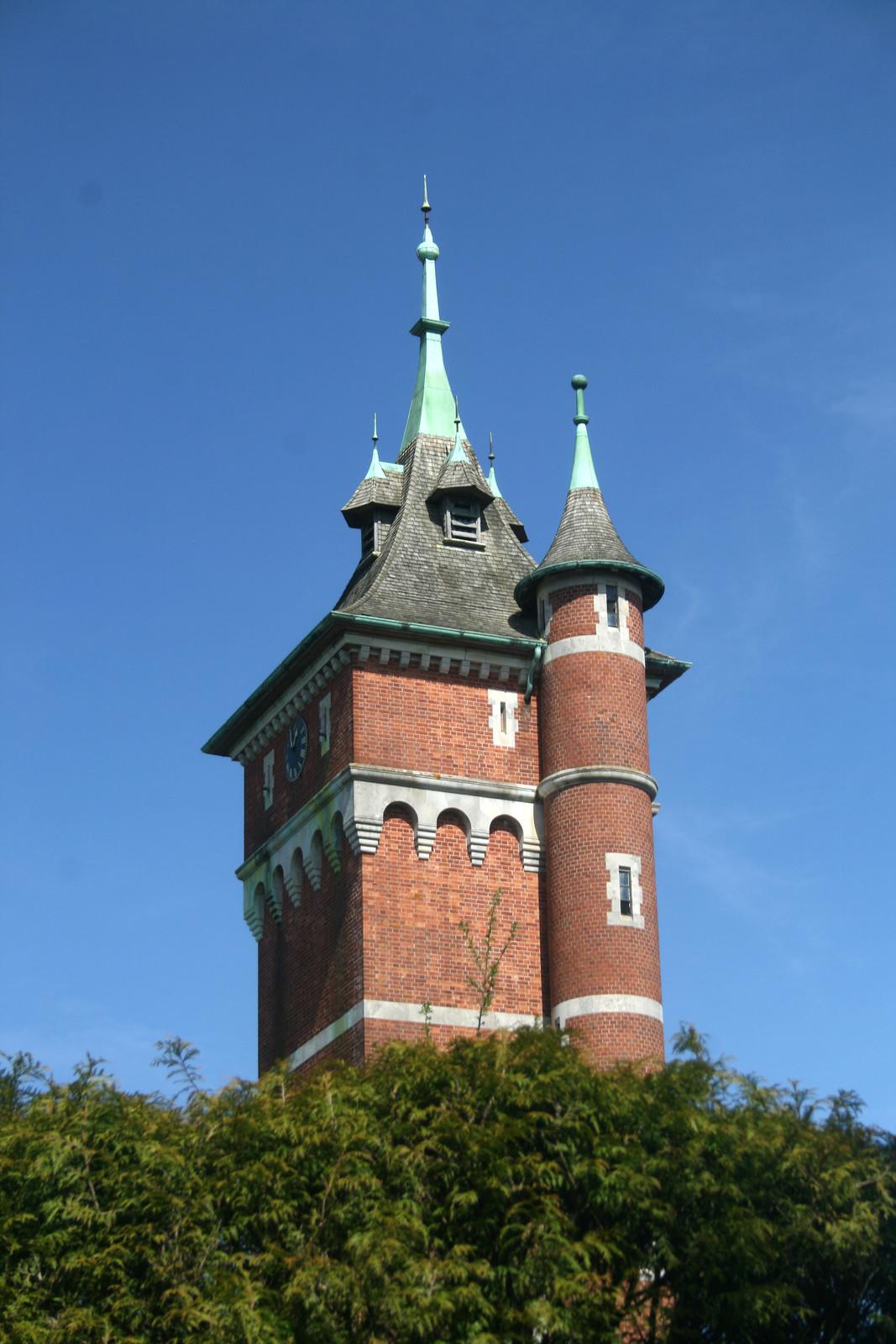 Old water tower near Warnham