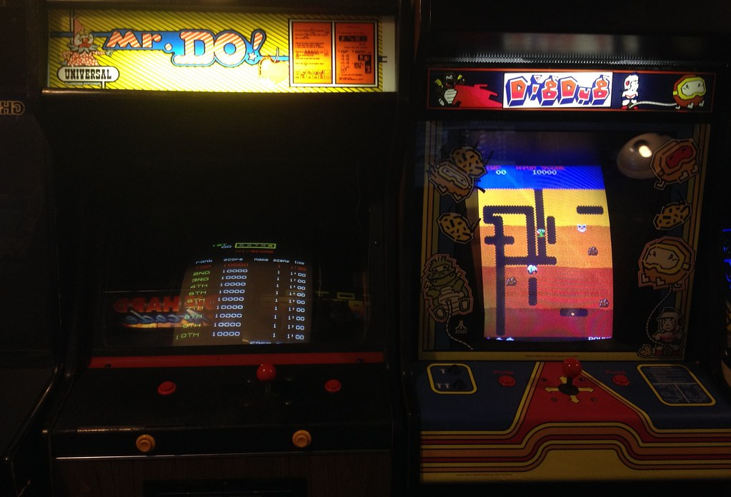 Mr Do/Dig Dug