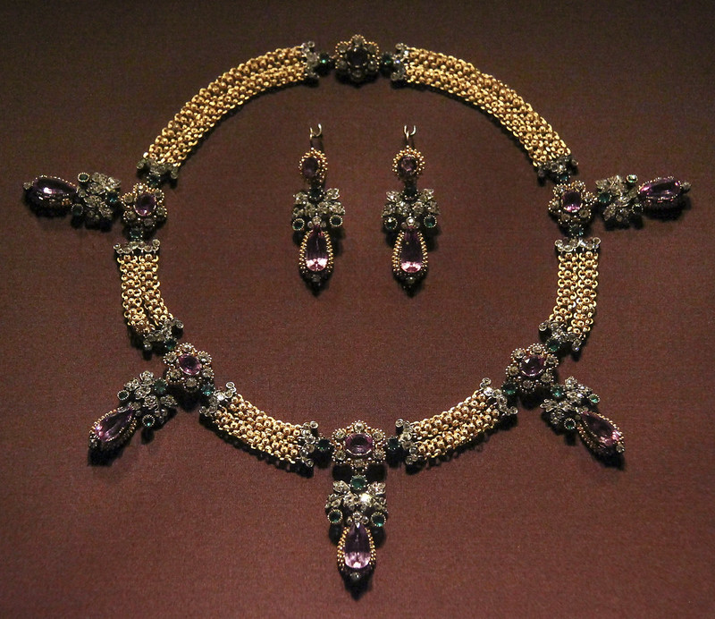 Set of jewels from the estate of Archduchess Sophie (1805-1872)