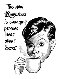1951 Rowntree's Cocoa ad