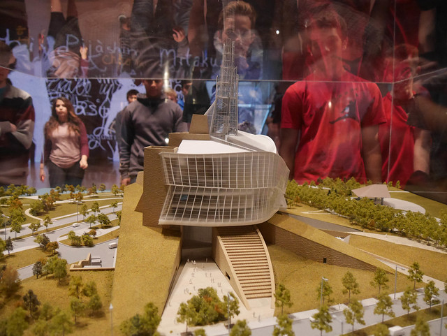 Canadian Museum for Human Rights Model