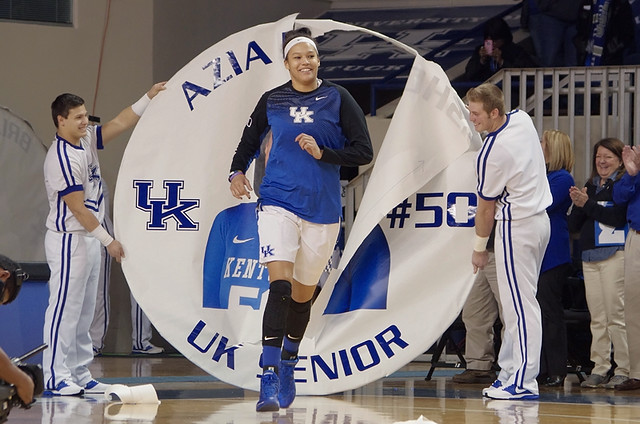 UK Hoops Senior Day 2015