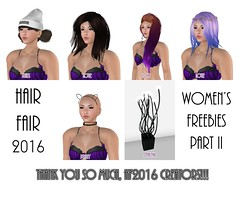 Hair Fair 2016 Gifts - Ladies' Edition, Part 2