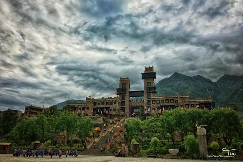 九寨溝 戶外 天空 黃龍 中國 四川 nature tree lake 藏族 羌 少數民族 風景