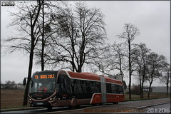 Iveco Bus Créalis 18 GNC - Setram (Société d'Économie Mixte des TRansports en commun de l'Agglomération Mancelle) n°306 - Photo of Souligné-Flacé