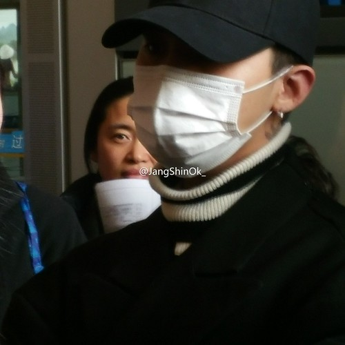 Big Bang - Beijing Airport - 31dec2015 - JangShinOk_ - 01