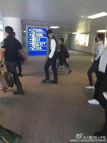 BIGBANG GDTOPDAE arrival Hangzhou 2015-08-25 129
