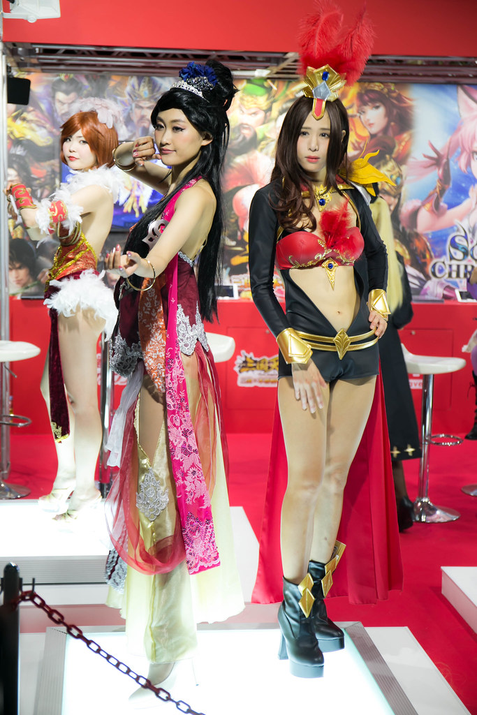 [TGS 2016] 東京電玩展廢文 – Day 1 正妹 ShowGirl 照 @3C 達人廖阿輝