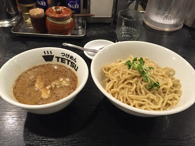 Tsukemen at Tsukemen TETSU, Mitaka