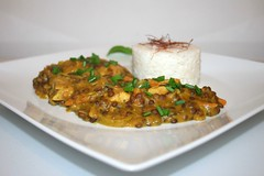 48 - Leek lentil curry with chicken / Lauch-Linsen…