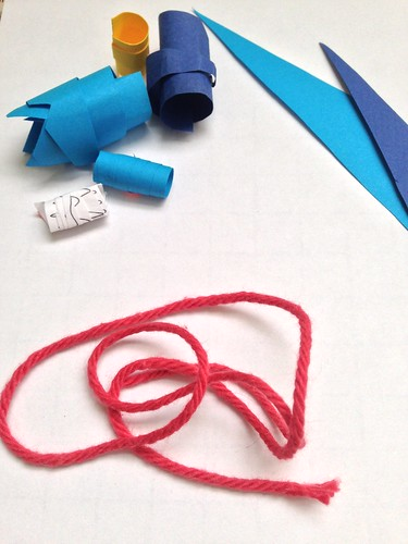 Family Workshop: Recycled Paper Beads, 4/19/15