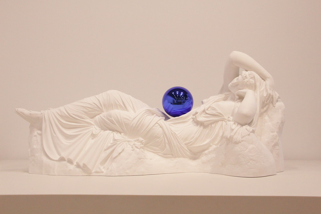 Gazing Ball (Ariadne), Plaster and glass, 2013, Jeff Koons