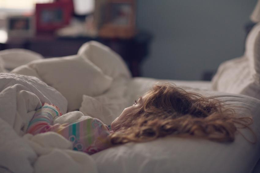 abigail sleeping