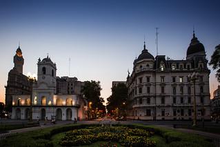 Cabildo and Buenos Aires City Hall, Argentina