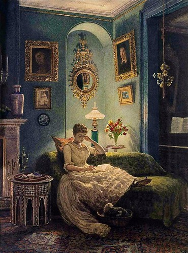 An Evening At Home - Eward John Poynter