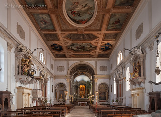 Župna c. Sv. Jurija Church Interior, Piran / Pirano, Slovenia, Europe